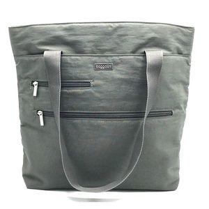 Baggallini Gray Nylon Tote Bag